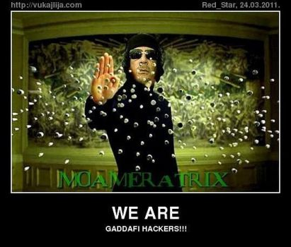 We Are Gaddafi Hachers by lightforgiven666