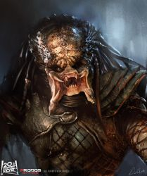 Predator's smile by daRoz