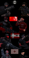 WW3000. Meet the factions. by Samuraiknight-1600