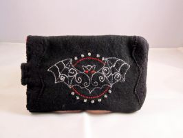 Gothic Phone Case 2 by VickitoriaEmbroidery