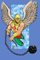 Golden Age Hawkman by statman71