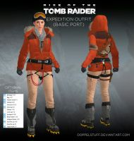 ROTTR Expedition outfit (basic port) by doppelstuff