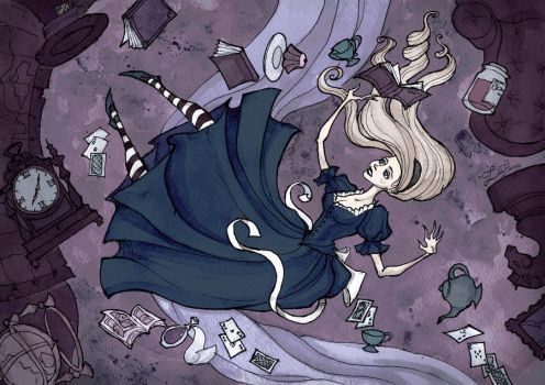 Alice (Down The Rabbit Hole) by IrenHorrors