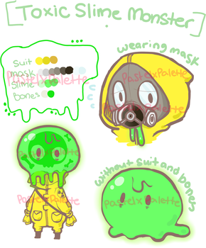 [MONSTER ADOPTABLE AUCTION] - CLOSED by pastelXpalette