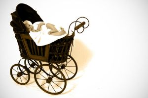 Little baby carriage by allboldgraphics