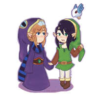 Ravio and link~~ by Linzuki