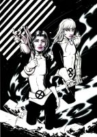 Kitty Pryde and Magik by olivernome
