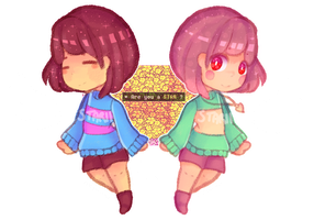 UT | Two faces of an Angel by starii-chan