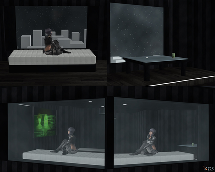 GitS - Mokoto's Apartment [XPS ONLY] by ArtificialFleshling