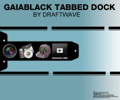 GaiaBlack Tabbed Dock by draftwave