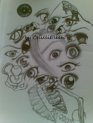 ... EYES ?! by ChilliEleen