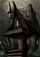 Haunted House Concept by ill-coupre