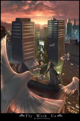 Fly With Us by arcipello