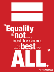 Equality by kevinkidwell