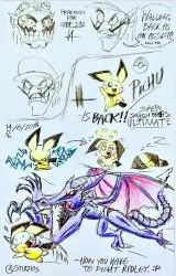 Pichu is Back! ...Plus Practice Sketches by C-Studios