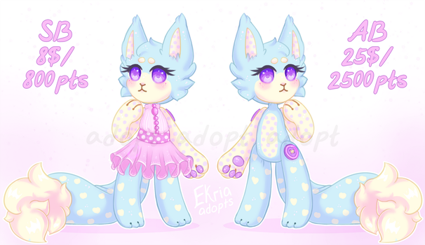 Adoptable Auction CLOSED - Ragdoll by Ekria