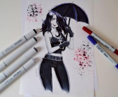 Death From The Sandman by Lighane