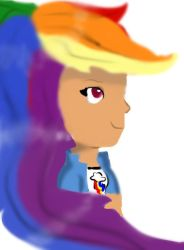 Rainbow Dash Humanized by Mlpfan4688