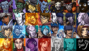 More of Those Icons by lunajile