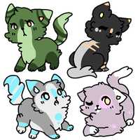 Cheap cat adopts (1/4 open) by INeedSoda