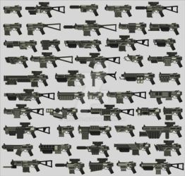 GUI Pack (weapon) by cruizRF
