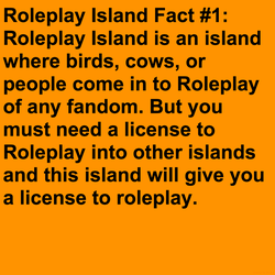 Roleplay Island Fact #1 by Mario1998
