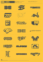 3E // AC Designer Logotypes Collection by AlejandroFiny