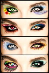 Bill Kaulitz Eyes by FDQ