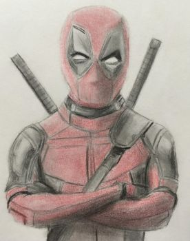 Deadpool by CaptainEdwardTeague