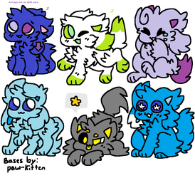 Cheap Kittydog adopts (ALL CLOSED) by Spudzzo