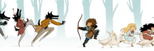 The Wolves of Willoughby Chase by MariChan27