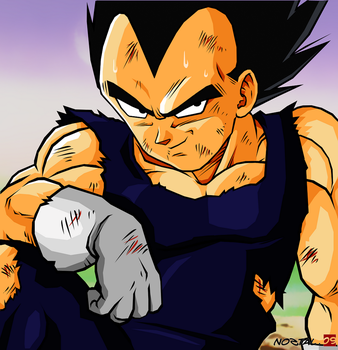 Vegeta - Victory by Nostal