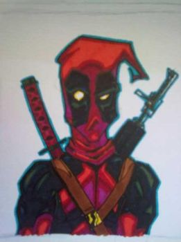 Mugshot: deadpool by C-WeaponX