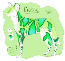 African Wild Dog Adopt [AUCTION CLOSED] by Unlikely-Adopts