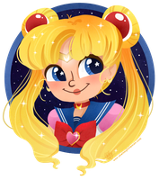 Sailor Moon by chelseyholeman