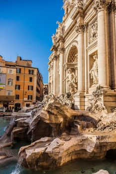 Trevi Fountain Rome by stevegek