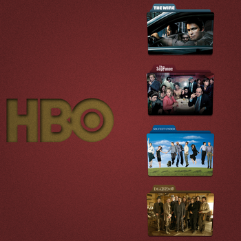 HBO Folder Icon Pack by Kliesen