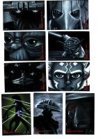 Topps CW: RotBH Sketch Cards by AstroVisionary
