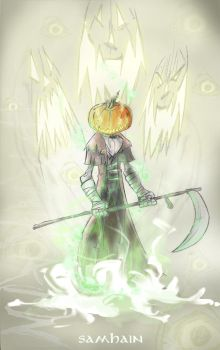TIME TO HARVEST- Samhain redux by DanSchoening