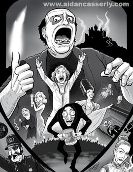 Young Frankenstein print by DadaHyena