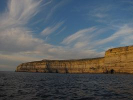 Gozitan Cliffs by misterchokola