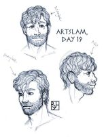 Artslam: Muse Day 19 by KabochaN