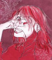 Red Dignity by oshibana