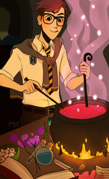 Potions Class by TheGingerMenace123