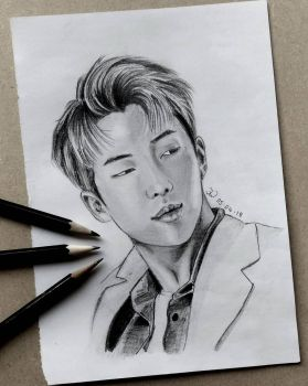 Namjoon by luffywow