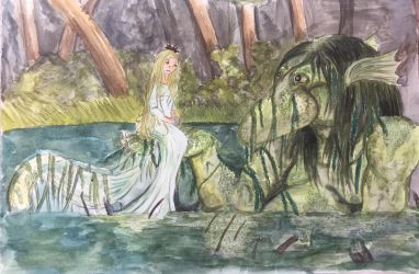 The River Troll and the Niaad by PossessedIron