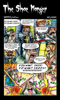 The Shoe Mongler page1 by ONATaRT