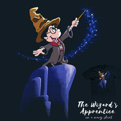 The Wizard's Apprentice - tee by InfinityWave