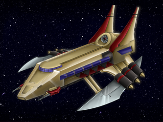 Commission: Aeon Battleship by Blabyloo229
