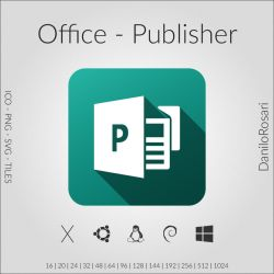 Office (Publisher) - Icon Pack by DaniloRosari